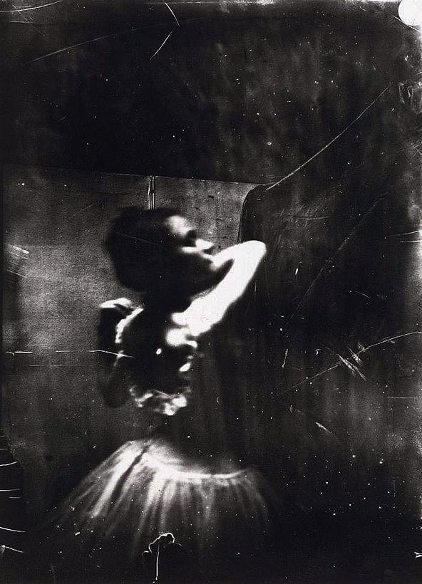 Фото 2, которое Эдгар Дега использовал для картины