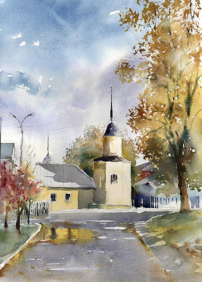 Пленэр в Коломне