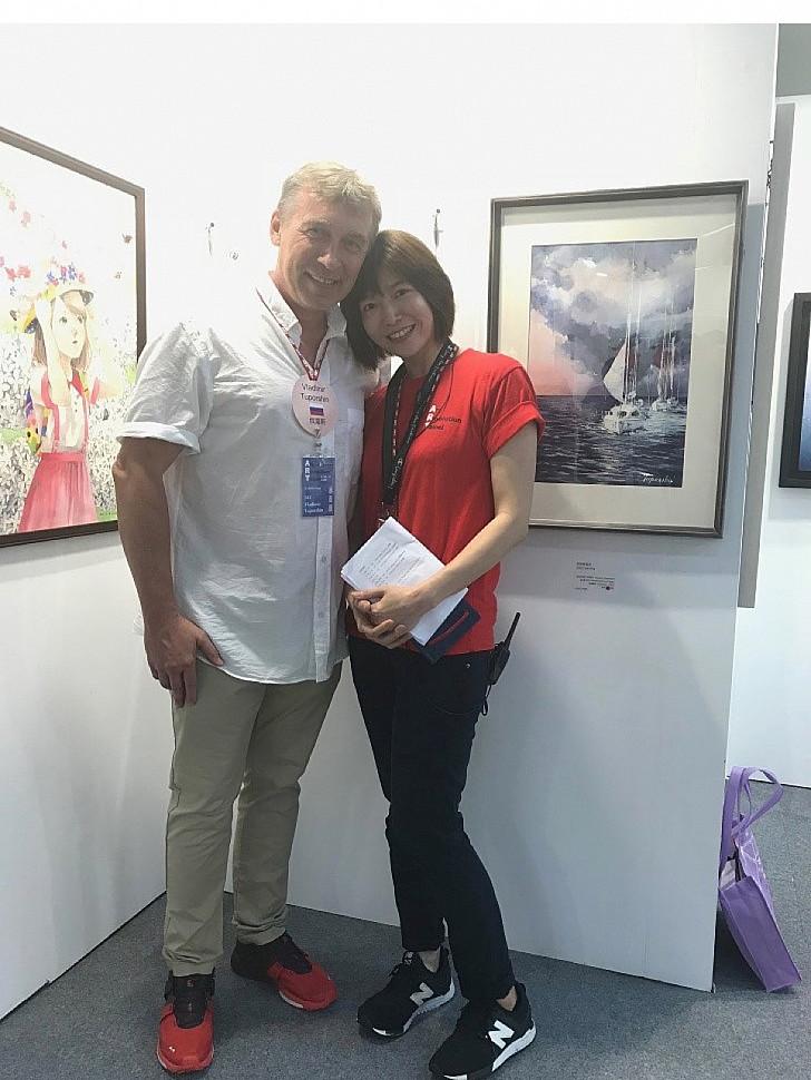 Art Revolution Taipei - выставка на Тайване и как я в ней засветился